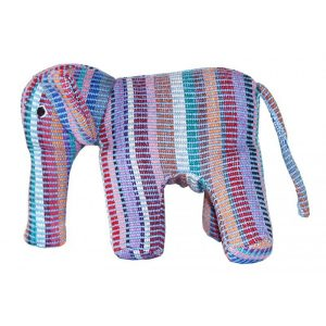 Blue Belle Elephant Toy