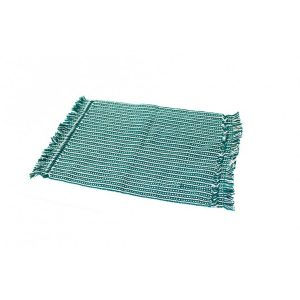 Green-and-White-Strips-Table-Mat