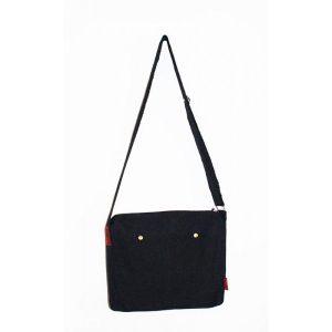 Retro Black Pat Bag