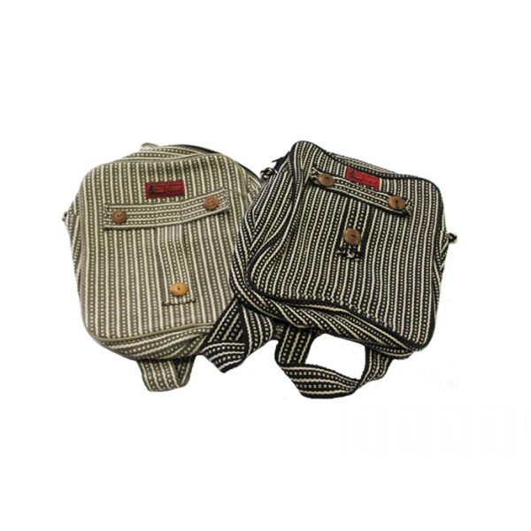 Streaked-Cotton-Handmade-Strong-and-Sturdy-Backpack