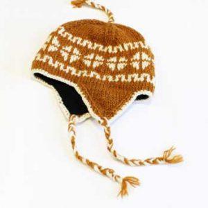 Woollen Winter Hat Brown