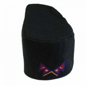 Nepali Bhaad gaunle नेपाली भादगाउले टोपी | Nepali Black Hat
